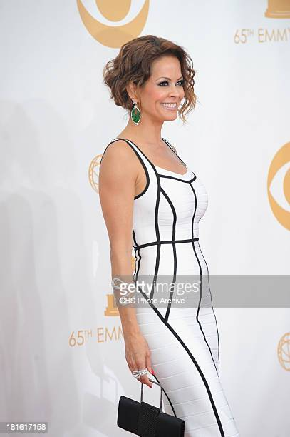 Brooke Burke on the red carpet for the 65th Primetime Emmy Awards which will be broadcast live across the country 8001100 PM ET/ 500800 PM PT from...