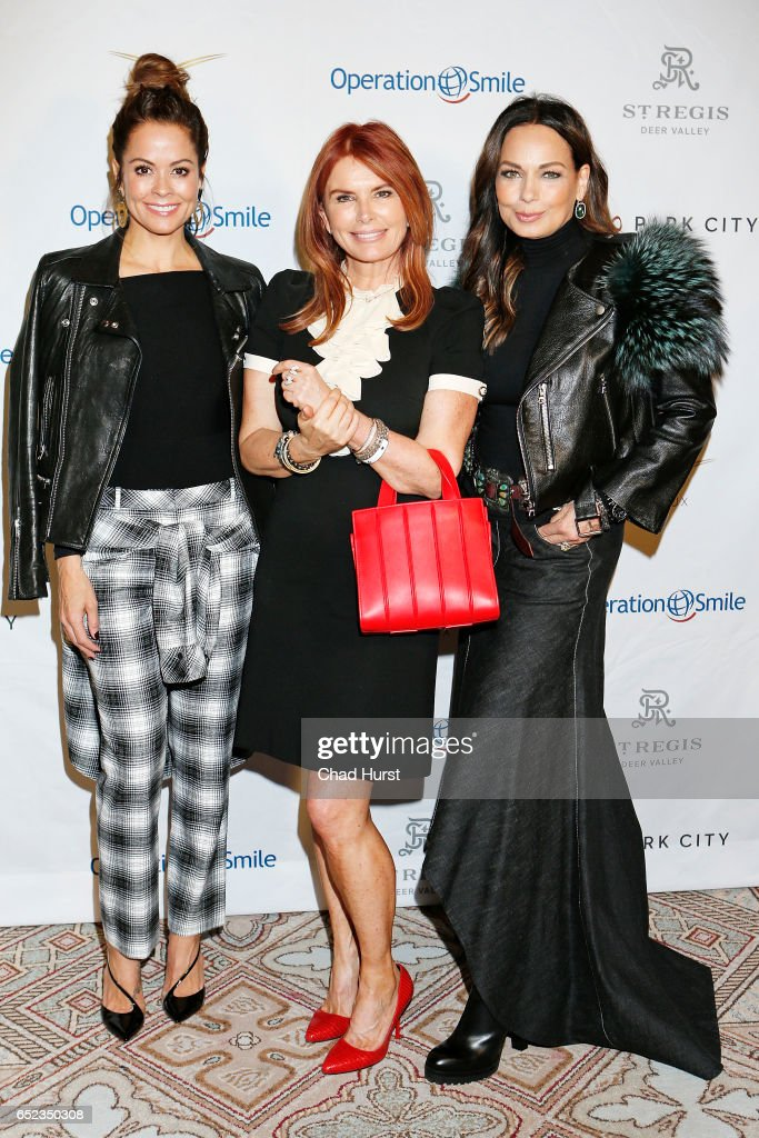 Brooke Burke, Roma Downey and Moll Anderson attend Operation Smile's Celebrity Ski & Smile Challenge Presented by the Rodosky Family on March 11, 2017 in Park City, Utah.