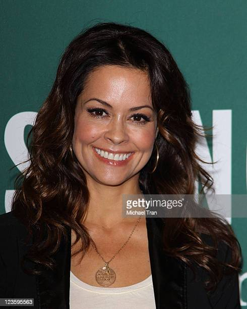 """Brooke Burke signs copies of her new book """"The Naked Mom"""" held at Barnes & Noble bookstore at The Grove on February 8, 2011 in Los Angeles,..."""
