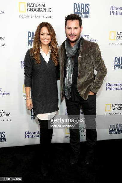 Brooke BurkeCharvet and Ricky Paull Golden attend the New York Premiere of Paris to Pittsburgh hosted by Bloomberg Philanthropies RadicalMedia at The...