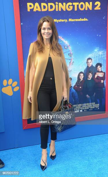Brooke BurkeCharvet arrives for the premiere of Warner Bros Pictures' 'Paddington 2' held at Regency Village Theatre on January 6 2018 in Westwood...