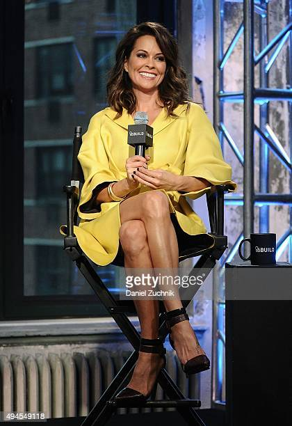 Brooke Burke-Charvet attends AOL Build to discuss her new show 'Breaking Bread With Brook Burke' at AOL Studios on October 27, 2015 in New York City.