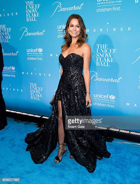 Brooke BurkeCharvet attends the 12th Annual UNICEF Snowflake Ball at Cipriani Wall Street on November 29 2016 in New York City