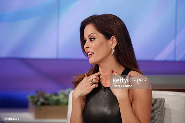 KATIE 1/16/13 Brooke BurkeCharvet talks about her surgery for thyroid cancer during Celebrity Health Scares on KATIE airing WEDNESDAY JAN 16...