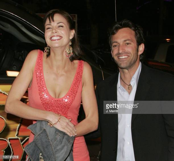 """Brooke Burns and Scott Waugh during """"Dust to Glory"""" Los Angeles Premiere - Arrivals at Arclight Theatre in Hollywood, California, United States."""