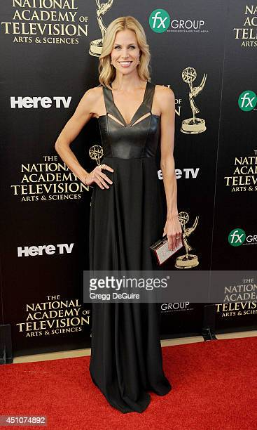 Brooke Burns arrives at the 41st Annual Daytime Emmy Awards at The Beverly Hilton Hotel on June 22 2014 in Beverly Hills California