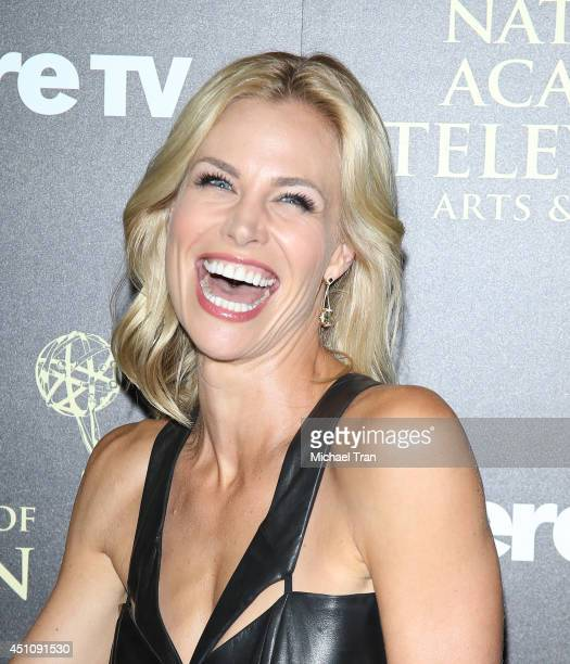 Brooke Burns arrives at the 41st Annual Daytime Emmy Awards held at The Beverly Hilton Hotel on June 22 2014 in Beverly Hills California