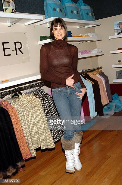 Brooke Burns at Fred Segal during 2005 Park City Fred Segal Boutique at Village at the Lift at Village at the Lift in Park City Utah United States