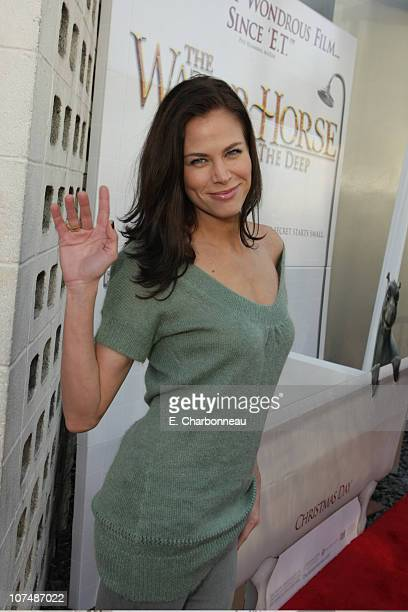 Brooke Burns at the Premiere of Revolution Studios' Walden Media's and Beacon Pictures' The Water Horse Legend of the Deep on December 8 2007 at the...