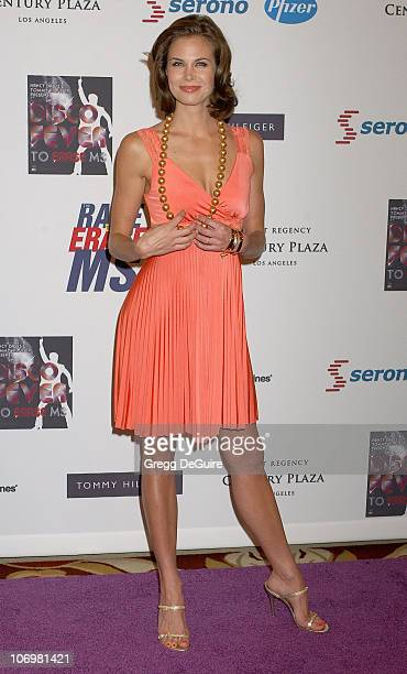 Brooke Burns during 13th Annual Race to Erase MS Sponsored by Nancy Davis and Tommy Hilfiger Arrivals at Hyatt Regency Century Plaza in Century City...