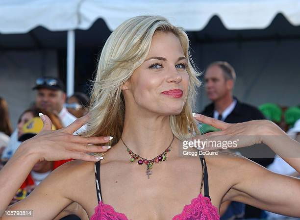Brooke Burns during 2003 Teen Choice Awards Arrivals at Universal Amphitheatre in Universal City California United States
