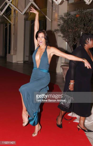 Brooke Burns during 2004 MIPCOM 20th Anniversary Party at Martinez Hotel in Cannes