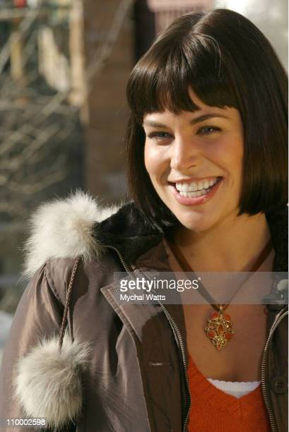 Brooke Burns during 2005 Park City Seen Around Town Day 6 at Park City in Park City Utah United States