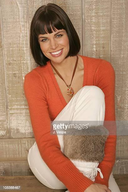 "Brooke Burns during 2005 Sundance Film Festival - ""The Salon"" Portraits at HP Portrait Studio in Park City, Utah, United States."