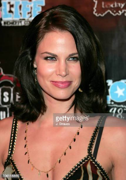 Brooke Burns during 987 FM Lounge 4 Life Benefit Concert Arrivals at House of Blues in Hollywood California United States