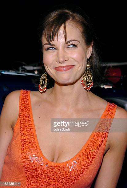 Brooke Burns during Dust to Glory Los Angeles Premiere Red Carpet at Arclight Theatre in Hollywood California United States