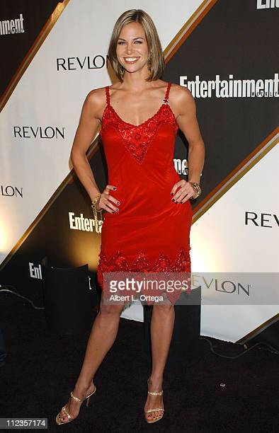 Brooke Burns during Entertainment Weekly Magazine 3rd Annual Pre-Emmy Party - Arrivals at The Cabana Club in Los Angeles, California, United States.