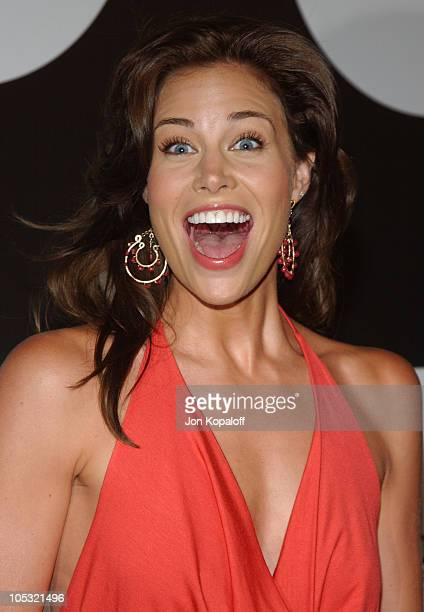 Brooke Burns during Fox New Season Launch Party at Santa Monica Beach in Santa Monica California United States