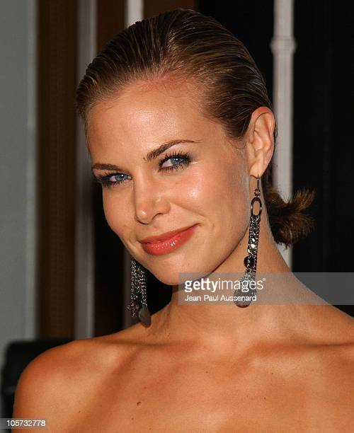 Brooke Burns during MGM Pictures and Columbia Pictures 'Into the Blue' Premiere Arrivals at Mann Village Theatre in Westwood California United States