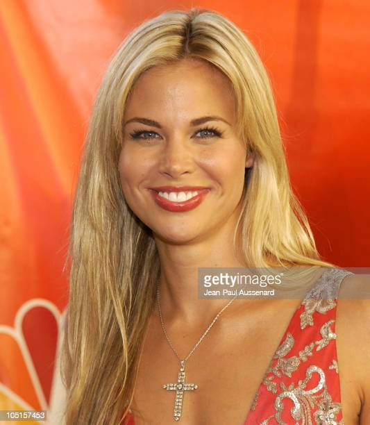 Brooke Burns during NBC All Star Casino Night 2003 TCA Press Tour Arrivals at Renaissance Hotel Grand Ballroom in Hollywood California United States