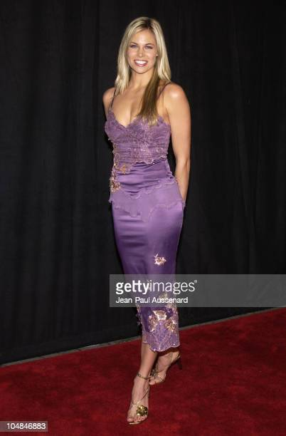 Brooke Burns during NBC AllStar Winter Party at Bliss in Los Angeles California United States