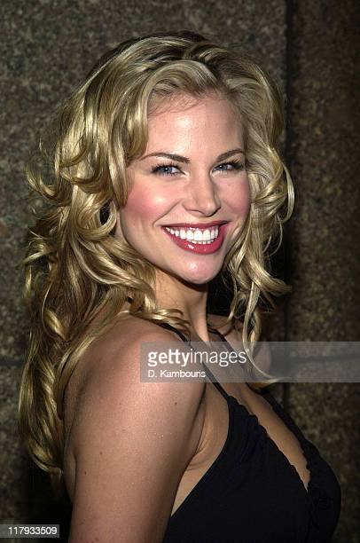 Brooke Burns during NBC Introduces Five New Series as Part of NBC's 200203 Schedule at Radio City Music Hall in New York City New York United States