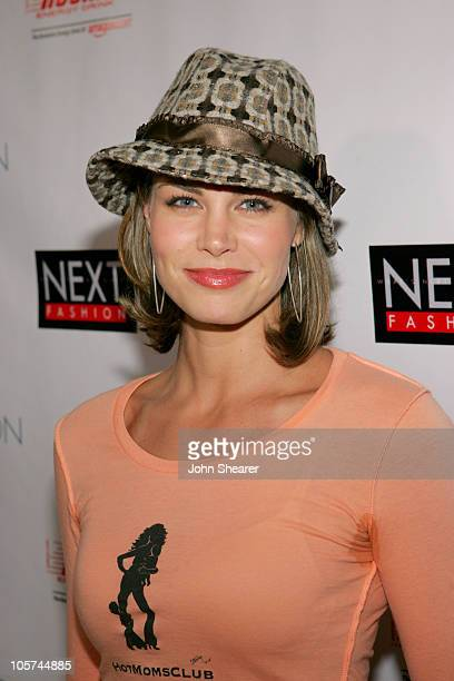Brooke Burns during NEXT Fashion Show - Arrivals at Sky Bar at the Mondrian in Los Angeles, California, United States.