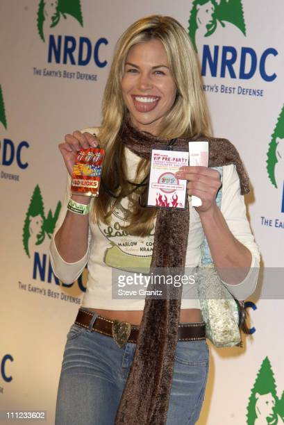 Brooke Burns during NRDC Presents The Rolling Stones in a Free Concert to Fight Global Warming Arrivals at Staples Center in Los Angeles California...