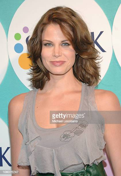 Brooke Burns during The Sunsilk Hairapy Coming Out Launch Party at The Plumm in New York City New York United States