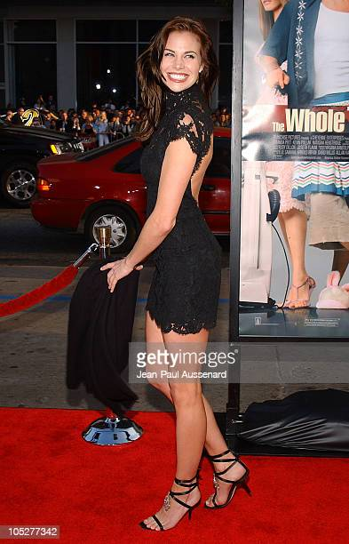 """Brooke Burns during """"The Whole Ten Yards"""" World Premiere - Arrivals at Chinese Theatre in Hollywood, California, United States."""