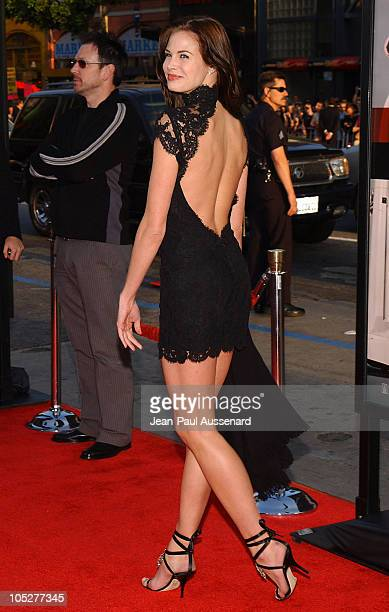 Brooke Burns during The Whole Ten Yards World Premiere Arrivals at Chinese Theatre in Hollywood California United States