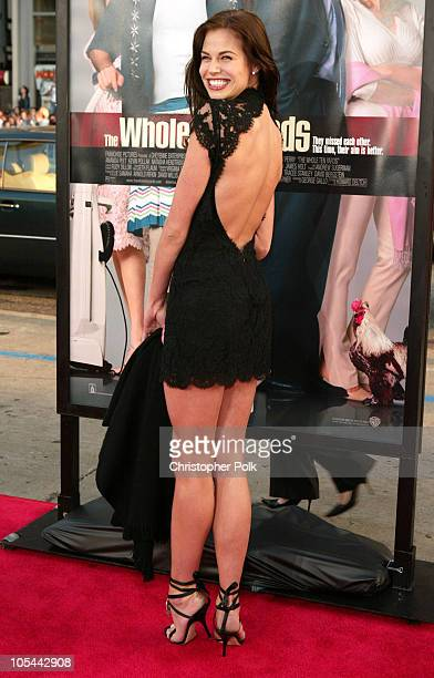 Brooke Burns during The Whole Ten Yards World Premiere at Grauman's Chinese Theatre in Hollywood CA United States