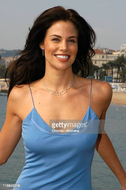 Brooke Burns from North Shore during 2004 MIPCOM The Girls of Fox Photocall at Cartlon Intercontinental Hotel in Cannes France