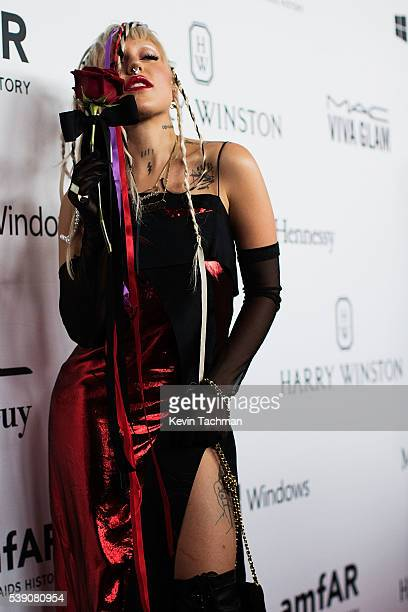 Brooke Candy attends the 7th Annual amfAR Inspiration Gala at Skylight at Moynihan Station on June 9 2016 in New York City