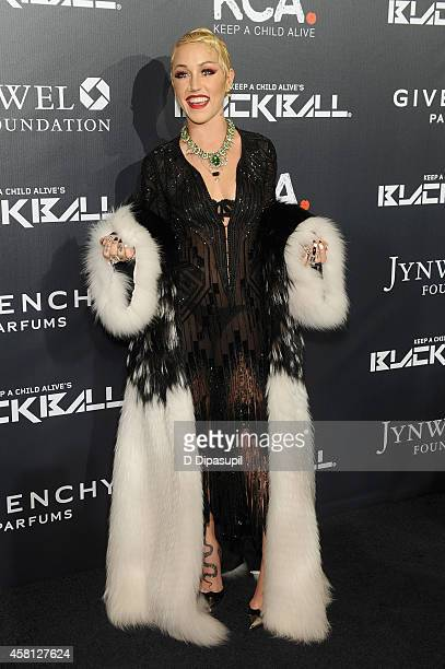 Brooke Candy attends the 9th annual Keep A Child Alive Black Ball at Hammerstein Ballroom on October 30 2014 in New York City