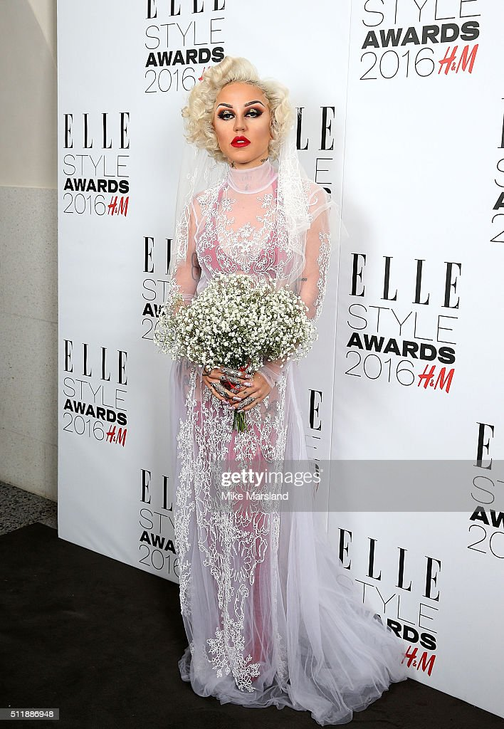 Brooke Candy attends The Elle Style Awards 2016 on February 23, 2016 in London, England.