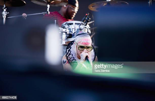 Brooke Candy performs at LA Pride Music Festival And Parade 2017 on June 11 2017 in West Hollywood California