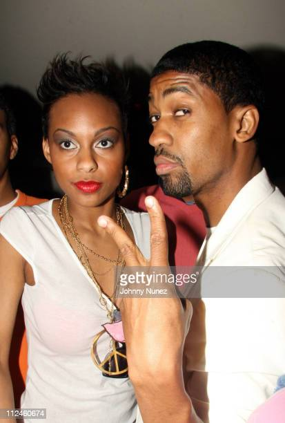 Brooke Crittendon and Fonzworth Bentley during Fonzworth Bentley Performs at Cains Southampton - May 29, 2006 at CAIN Southampton Club in...