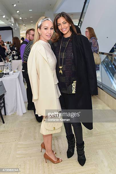 Brooke Davenport and Touriya Haoud attend the CHIPS Spring Luncheon 2015 on May 14 2015 in Beverly Hills California