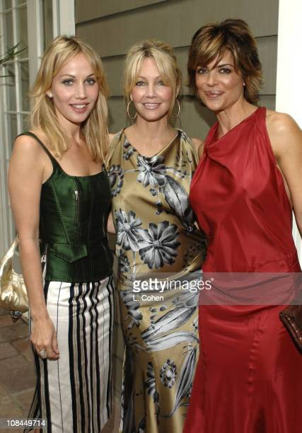 Brooke Davenport, Heather Locklear in Moschino and Lisa Rinna in Moschino
