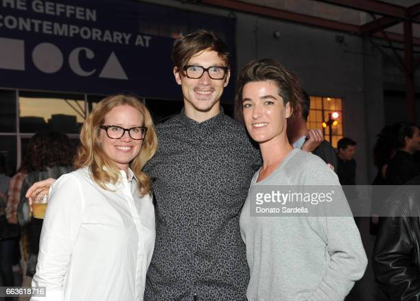 Brooke Devenney Ben Weyerhauser and guest attend MOCA's Leadership Circle and Members' Opening of 'Carl Andre Sculpture as Place 19582010' and...
