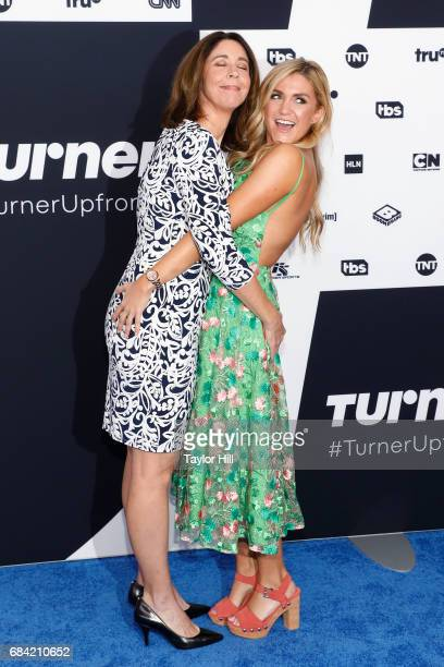 Brooke Dillman and Jessica Lowe attend the 2017 Turner Upfront at Madison Square Garden on May 17 2017 in New York City