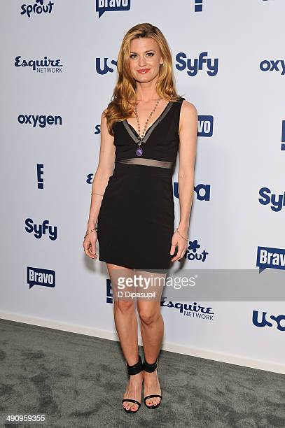 Brooke D'Orsay attends the 2014 NBCUniversal Cable Entertainment Upfronts at The Jacob K Javits Convention Center on May 15 2014 in New York City