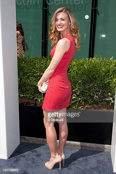 Brooke D'Orsay attends the USA Network's 2012 Upfront Event at Alice Tully Hall on May 17 2012 in New York City