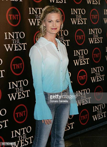Brooke D'Orsay during Into The West West Coast Premiere Arrivals at Directors Guild Theater in Los Angeles California United States