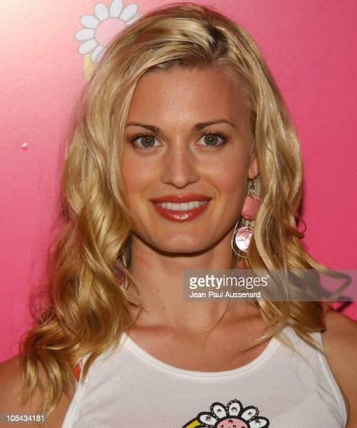 Brooke D'Orsay during Tweety Natural Blonde Shopping Party and Clothing Launch Arrivals at Kitson in Los Angeles California United States