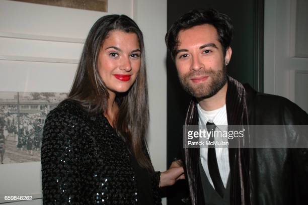 Brooke Elliott and Gilbert Zalez attend THE SOCIETY PRESENTS POP The Genius of ANDY WARHOL hosted by Naeem and Ranjana Khan at 129 Spring Street on...