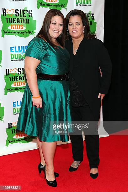 Brooke Elliott and Rosie O'Donnell attend Rosie's Building Dreams for Kids Gala at The New York Marriott Marquis on September 19 2011 in New York City