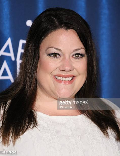 Brooke Elliott arrives at the James Franco's Bar Mitzvah Hilarity For Charity's 4th Annual Variety Show at Hollywood Palladium on October 17 2015 in...