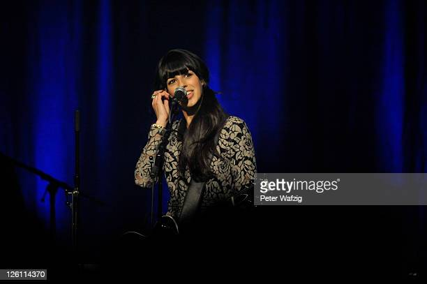 Brooke Fraser performs on stage at the Kulturkirche on September 22 2011 in Cologne Germany